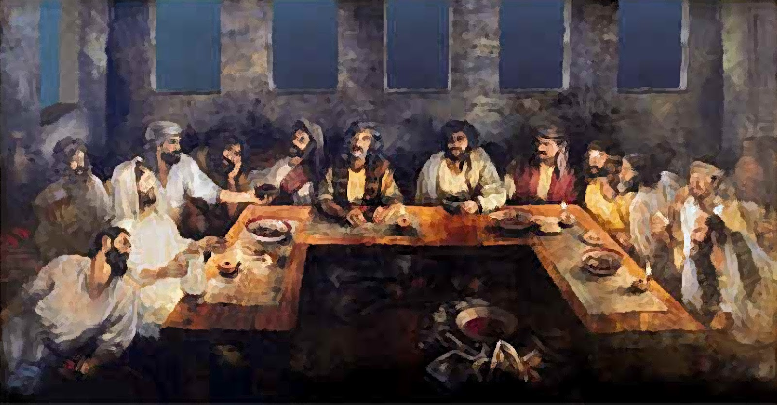 A Prayer To Remember The Last Supper Uniting Grace
