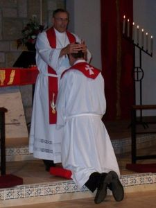 A Lutheran (Missouri Synod) ordination, courtesy Wikipedia.