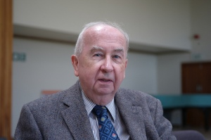 Prof. Geoffrey Wainwright, British Methodist theologian, liturgiologist, and ecumenist.