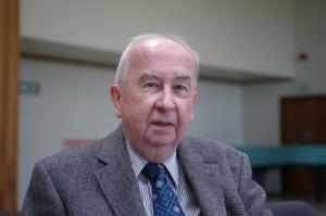 Prof. Geoffrey Wainwright, British Methodist theologian, liturgiologist, and ecumenist.