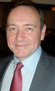 Photo of Kevin Spacey by Sarah Ackerman, courtesy Wikimedia Commons.