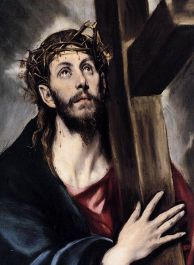 Christ Carrying the Cross, circa 1580, by El Greco. Courtesy Wikimedia Commons.